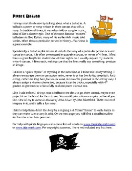 A Pirate's Life for Me! A pirate themed writing and art unit.
