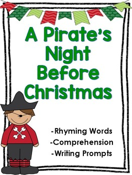 A Pirate's Night Before Christmas Comprehension and Writing Activities
