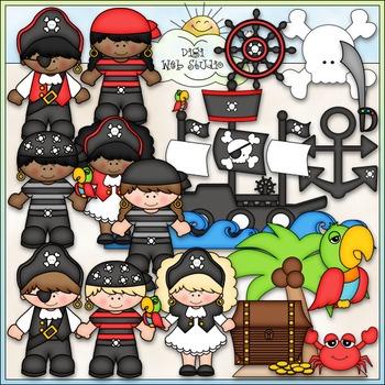 A Pirate's Life Clip Art - Pirates Clip Art - CU Clip Art & B&W