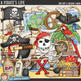 "Pirate Clip Art: ""A Pirate's Life"""