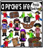 A Pirate's Life (The Price of Teaching Clipart Set)