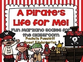 A Pirate's Life For Me! {Fun classroom Marzano Scales}
