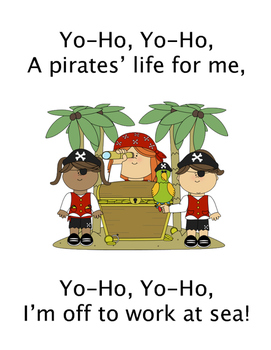 A Pirates Life For Me-a Counting Sea Chantey