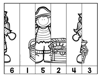 A Pirate's Life for Me Math Activities