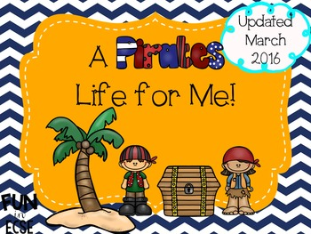 A Pirate's Life for Me! Pre-K and K Unit