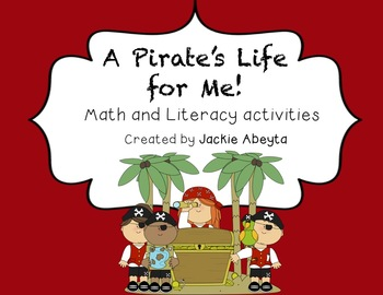 A Pirate's Life for Me! {literacy and math activities}