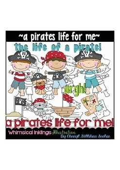 A Pirates Life for me Clipart Collection