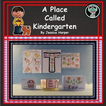 A Place Called Kindergarten   6 Easy Prep Literacy Centers