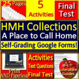 A Place to Call Home 8th Grade HMH Collections 1 - Activities and Test -  HRW