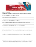 A Place to Call Home Comprehensive Study Guide