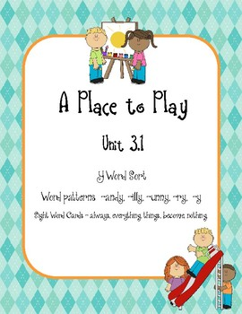 A Place to Play,  vowel sounds of Y