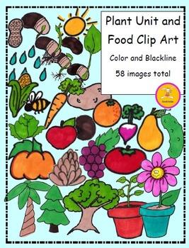 Plant Clip Art - Plant and Food Clip Art