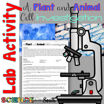 A Plant and Animal Cell Investigation Lab Activity