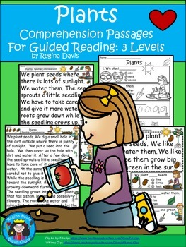 A+ Plants...Comprehension: Differentiated Instruction For Guided Reading
