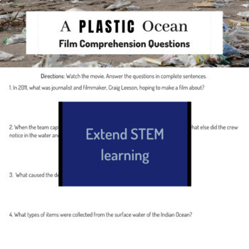 A Plastic Ocean Movie Guide