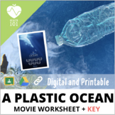 A Plastic Ocean: Distance Learning Worksheet Video Questions & Answer KEY!