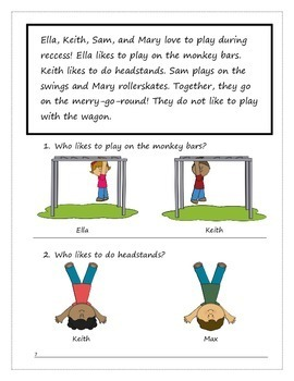 A Playground Story: Reading & Vocabulary