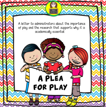 A Plea for Play