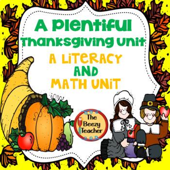 A Plentiful Thanksgiving Unit