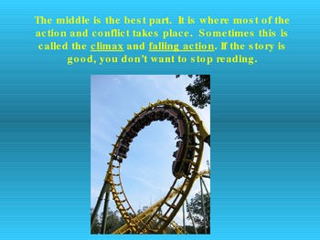 A Plot is like a Roller Coaster