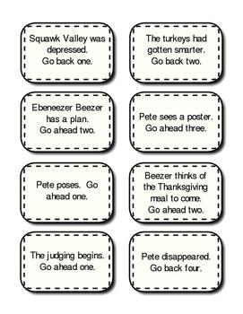 A Plump and Perky Turkey by Teresa Bateman- Game Set