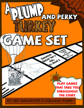 A Plump and Perky Turkey by Teresa Bateman- Game Set