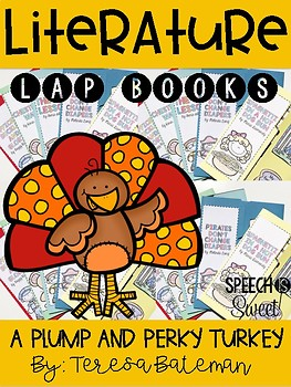 A Plump and Perky Turkey Literature Lap Book