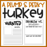 A Plump and Perky Turkey | Thanksgiving Activities | Book Project
