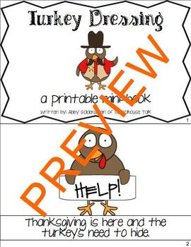 A Plump and Perky Turkey - {book companion and Thanksgiving activities}