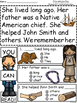A+ Pocahontas Comprehension:Differentiated Instruction For
