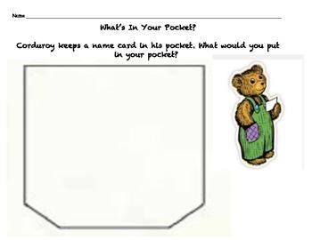 A Pocket For Corduroy Bear