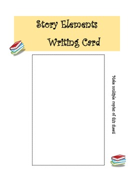 A Pocket Full of Story Elements!