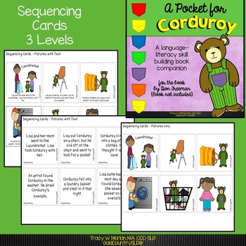 A Pocket for Corduroy - A Language/Literacy Book Companion