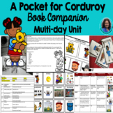 A Pocket for Corduroy Book Companion: Tier Two Vocabulary,