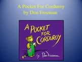 Pocket for Corduroy | Collaborative Conversations | Vocabulary | Text Talk