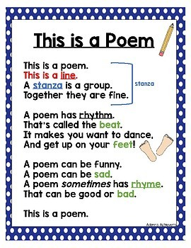 Poetry Writing - Pocket Project