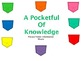 A Pocketful of Knowledge Privacy Folder Sheets