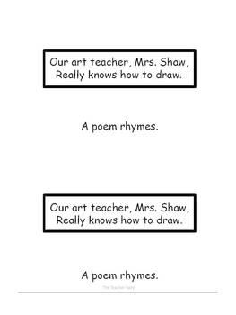 A Poem- Emergent Reader