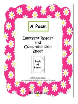 A Poem- Emergent Reader