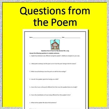 A Poem for My Librarian Mrs. Long by Nikki Giovanni - HMH Collections