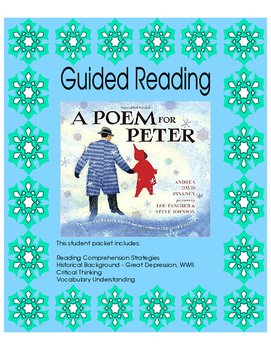 A Poem for Peter - Guided Reading