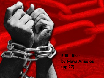 """A Poem for Visual Learners """"Still I Rise"""" by Maya Angelou"""