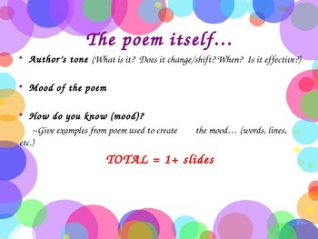 A Poetry Project
