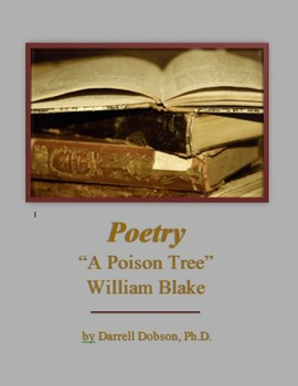 """""""A Poison Tree"""" by William Blake -- Poetry"""