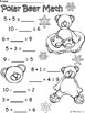 A+ Polar Bear Addition and Subtraction Differentiated  Practice