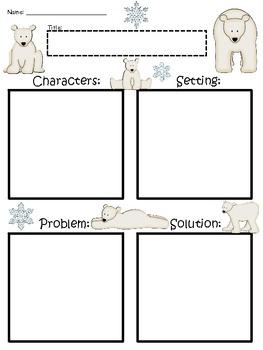 A+ Polar Bear: Blank Story Maps