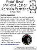 A+ Polar Bear: CVC Words And Letter Reading Practice