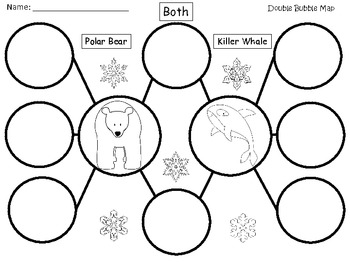 A+ Polar Bear & Killer Whale:  Double Bubble Maps
