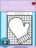 A+ Mitten Numbers 100 and 120 Chart