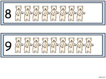 A+ Polar Bear & Seal Number Sense